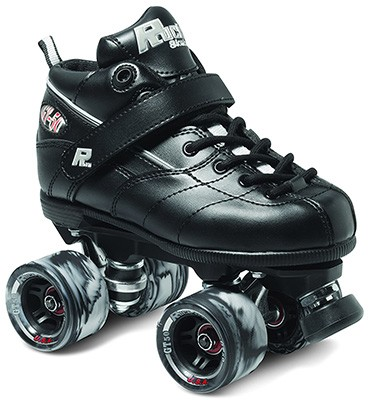 Sure-Grip Rock GT-50 Black Roller Skates - best for beginners
